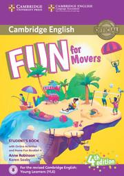 Детски езиков сертификат Cambridge Movers